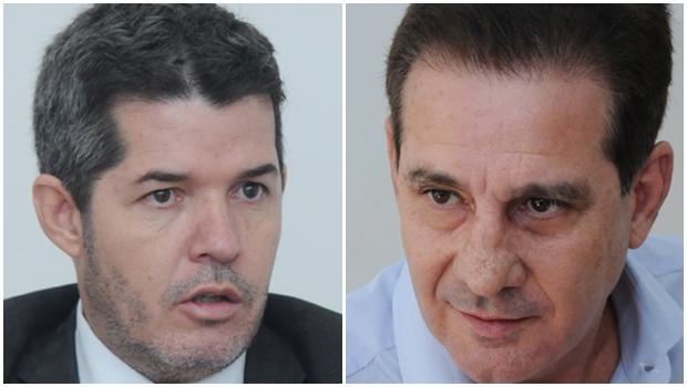 Margem de erro alta da pesquisa do Serpes sugere que Vanderlan e Waldir estão empatados