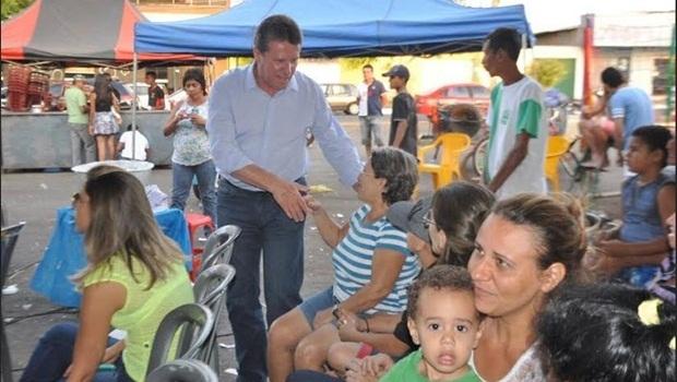 Vecci participou de evento no último sábado (11)   Divulgação