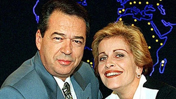 Morte de Eliakim Araújo desfaz 1º casal do  telejornalismo nacional e comove redes sociais
