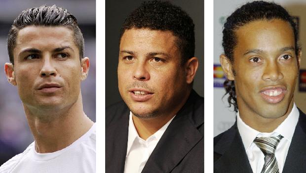 Na escolha do maior entre os três Ronaldos do futebol, prevaleceu o melhor