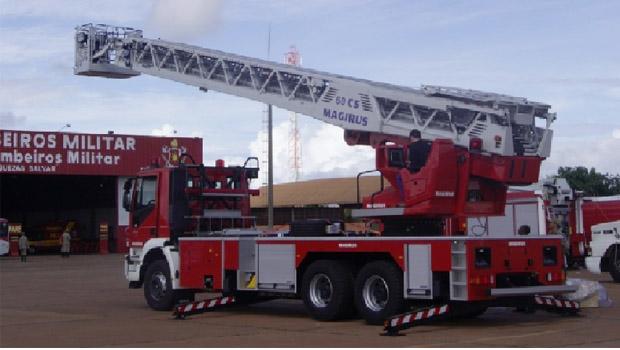 Caminhão com escada Magirus: mais eficiência ganha novos equipamentos | Foto: Divulgação
