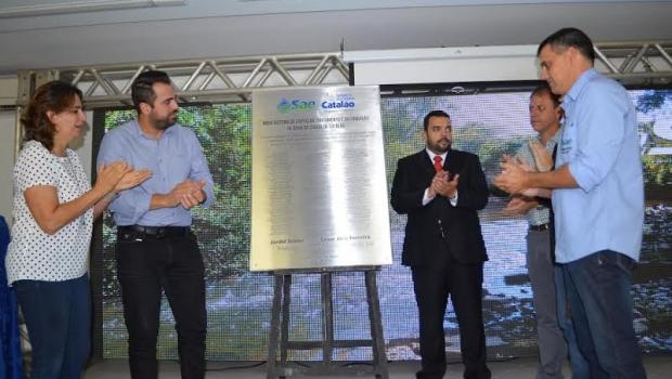 Lançadas obras de construção de barragem que vai garantir água nos próximos 30 anos para Catalão