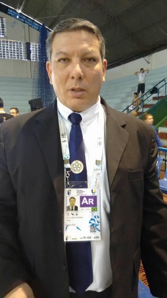 Árbitro Leonardo Stacciarini representará Goiás no judô olímpico