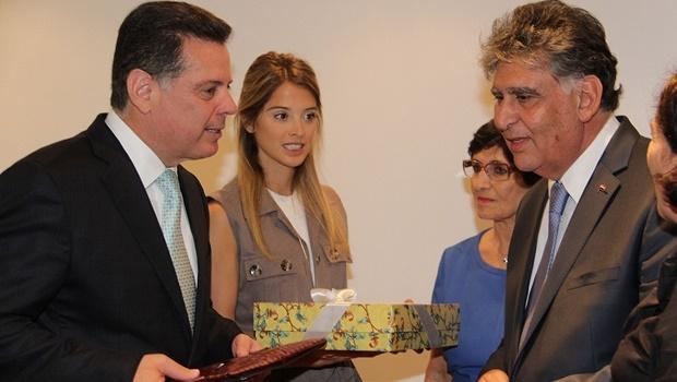 Governador Marconi Perillo (PSDB) disse que buscará ajudar a comunidade síria da maneira que for possível | Foto: Gabinete de Imprensa
