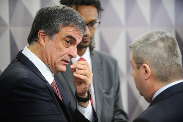 Ex-ministro José Eduardo Cardozo representou Dilma durante sessão nesta quarta | Foto: Agência Senado