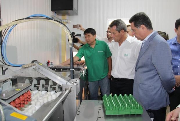 Marconi Perillo visitou novas instalações em São Francisco de Goiás | Foto: Marco Monteiro