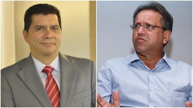 Prefeito Carlos Amastha (PSB) e governador Marcelo Miranda (PMDB) | Fotos: divulgação / Fernando Leite / Jornal Opção