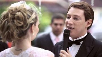 Casamento de Bianca Toledo e Felipe Heiderich, em 2014  Reprodução
