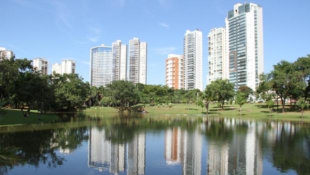 Parque Flamboyant, em 2015   Foto: Ângela Macário/ Prefeitura de Goiânia
