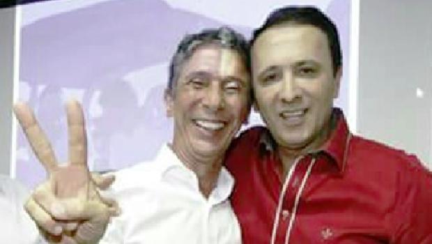 Raul Filho e deputado Gaguim: se aquele não puder, este será candidato | Foto: Divulgação