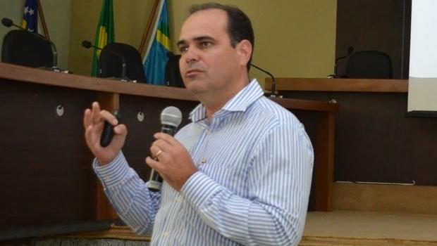 Rodrigo Lacerda, quando ainda era secretário de Saúde | Foto: reprodução/ Entorno Urgente