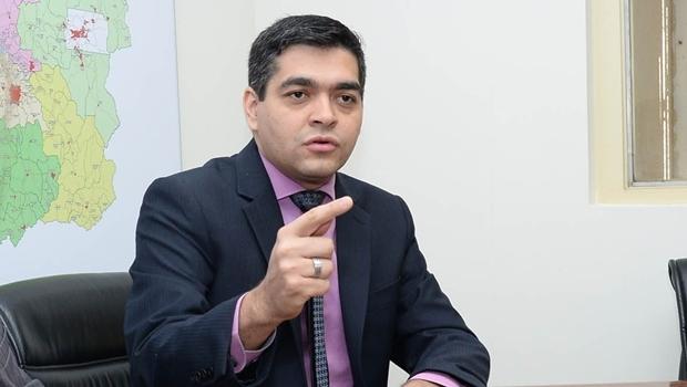 Entrevista coletiva com Secretário Tayrone Di Martino, implantação do Cartão Metrobus. Foto: Wagnas Cabral Data: 15.07.2016