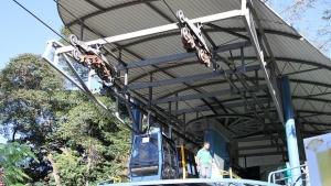 Estrutura do teleférico do Parque Mutirama | Foto: Divulgação / Prefeitura de Goiânia