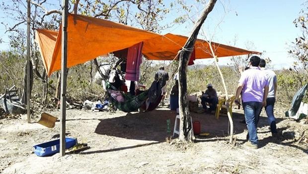 Trabalhadores resgatados pela Superintendência Regional do Trabalho vivam em condições precárias | Foto: Assessoria de Imprensa do Ministério do Trabalho