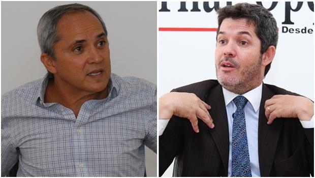 Luiz Bittencourt e Delegado Waldir: campanha vai esquentar | Fotos: Jornal Opção