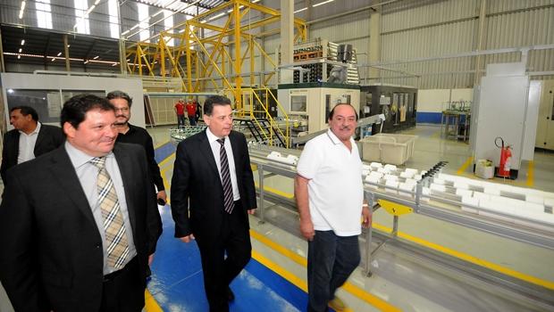 """Marconi: """"Estamos preparando a criação de mais dois distritos industriais em Anápolis"""""""