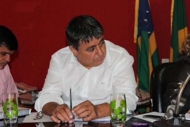 Jakes Rodrigues de Paula 1 prefeito de Rubiataba foto do diário do norte