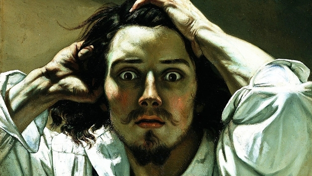 The Desperate Man, Gustave Courbet