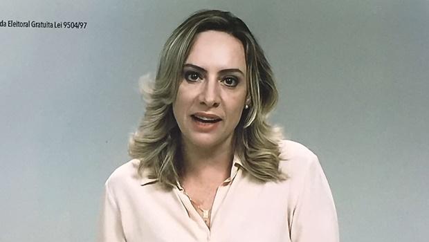 Adriana focou na sua atuação em defesa das mulheres, crianças e adolescentes | Foto: Reprodução
