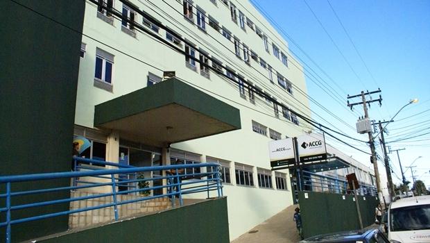 Fachada do Hospital Araújo Jorge, tirada em 2013 A| Foto: Divulgação / Facebook