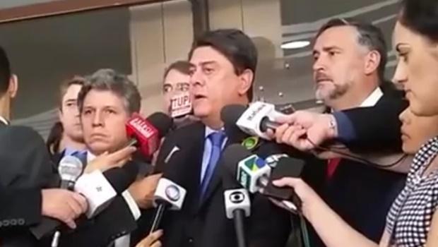 Paulo Pimenta (PT-RS), Paulo Teixeira ( PT-SP) e Wadih Damous (PT-RJ) | Foto: Reprodução PT