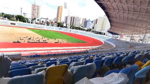 Estádio Olímpico será inaugurado no próximo dia 8 em Goiânia