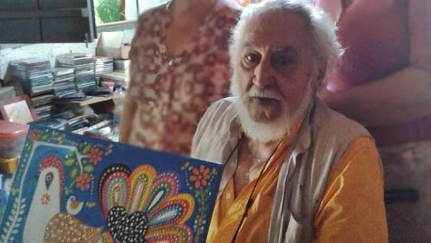 Artista plástico morava desde os anos 70 em Goiânia | Foto: reprodução/ Facebook
