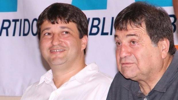 Fabiano Parafusos e César Halum: o empresário desiste da disputa por não ter conseguido articular chapa competitiva | Foto: Facebook