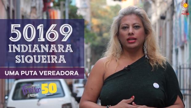 Na luta contra o preconceito, travesti e prostituta se candidata a vereadora