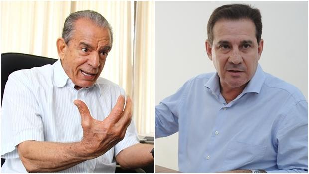 Iris Rezende e Vanderlan Cardoso: cotados para a disputa do segundo turno | Fotos: Fernando Leite e Renan Accioly/ Jornal Opção
