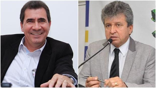 Prefeito João Gomes e pré-candidato a vice-prefeito, Eli Rosa | Fotos: Fernando Leite/ Câmara Municipal de Anápolis