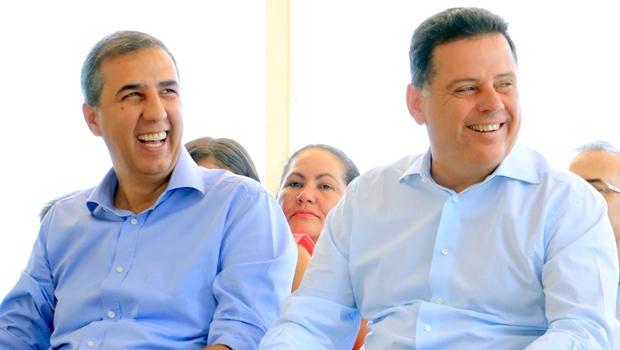 Governador Marconi Perillo e vice-governador José Eliton