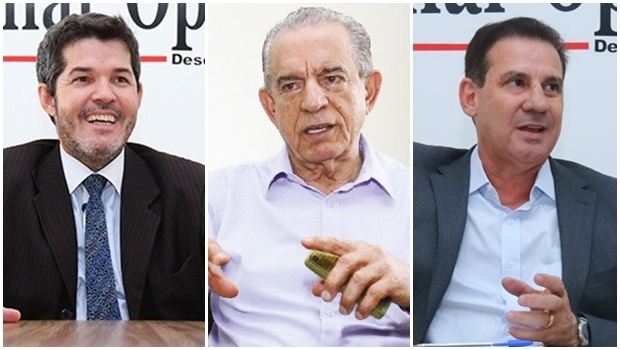 Iris Rezende é o líder; Waldir Soares, o vice-líder; Vanderlan Cardoso está em 3º