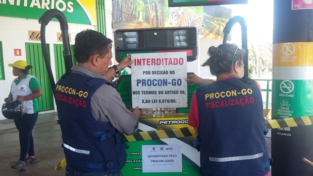 Procon Goiás afirma que continuará fiscalizaçça de estabelecimentos de distribuição de combustível no Estado | Foto: Reprodução/ Procon Goiás