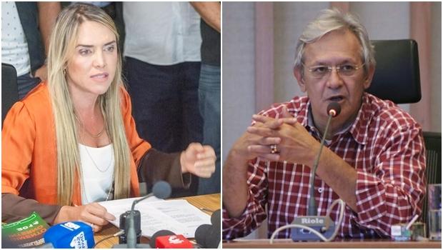 Os deputados Célia Leão e Raimundo Ribeiro, do PPS, foram e outros dois deputados foram afastados da Mesa Diretora Câmara Legislativa do DF | Fotos: Reprodução Facebook