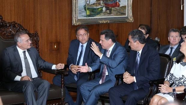 Marconi leva a Temer demandas tributárias do Brasil Central