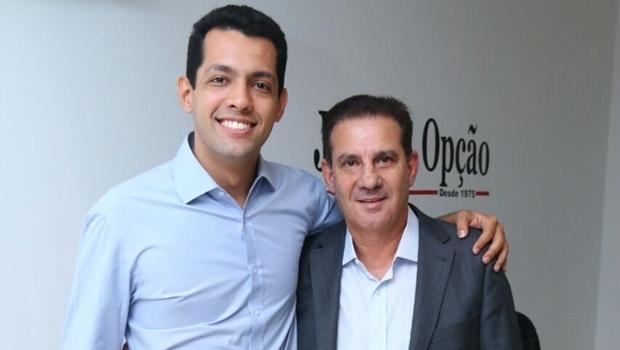 Thiago Albernaz e Vanderlan Cardoso: coligação Uma Nova Goiânia