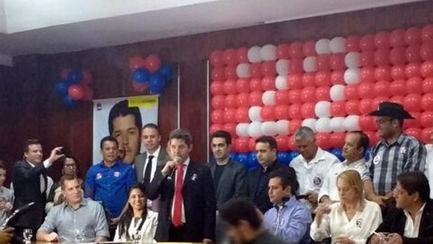 Convenção do PR confirma candidatura de Delegado Waldir à Prefeitura de Goiânia