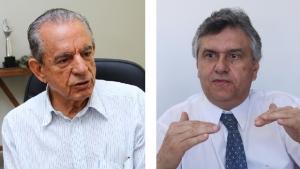 Iris Rezende e Ronaldo Caiado: se perder a Prefeitura de Goiânia, o primeiro poderá detonar a candidatura do senador para o governo de Goiás em 2018. Líder do DEM está nas mãos do ex-prefeito