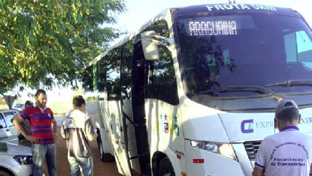 Transporte público intermunicipal  clandestino é alvo de operação