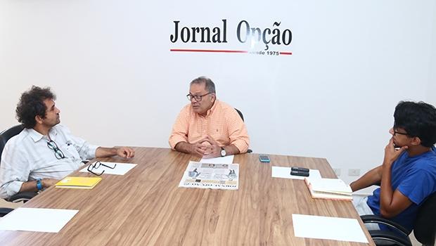 """Carlos Maranhão em entrevista aos editores do Jornal Opção: """"Goiânia está sendo administrada pensando somente no hoje e não no amanhã. As administrações de Iris Rezende sempre tiveram essa característica"""""""
