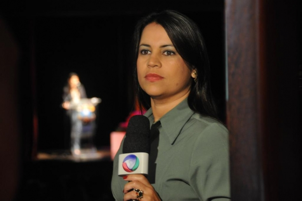 Mariane Ferreira: jornalista do primeiro time da TV Record | Foto de seu Facebook