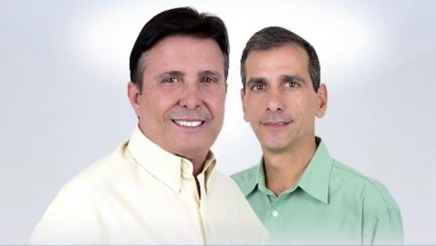 Pedro Canedo (DEM) e Miguel Marrula (DEM) estão inaptos pela Justiça Eleitoral a concorrer à Prefeitura de Anápolis. Canedo garante que vai reverter a situação na Justiça | Foto: Divulgação