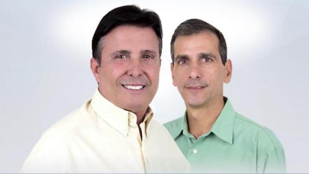 Pedro Canedo (DEM) e Miguel Marrula (DEM) estão inaptos pela Justiça Eleitoral a concorrer à Prefeitura de Anápolis. Canedo garante que vai reverter a situação na Justiça   Foto: Divulgação