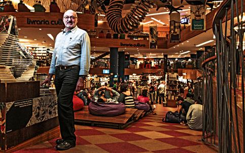 Pedro Herz: principal criador do padrão de excelência da Livraria Cultura