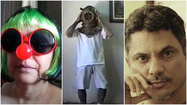 Oficineiros Alice Martins, Renato Cirino e Jamesson   Fotos: divulgação