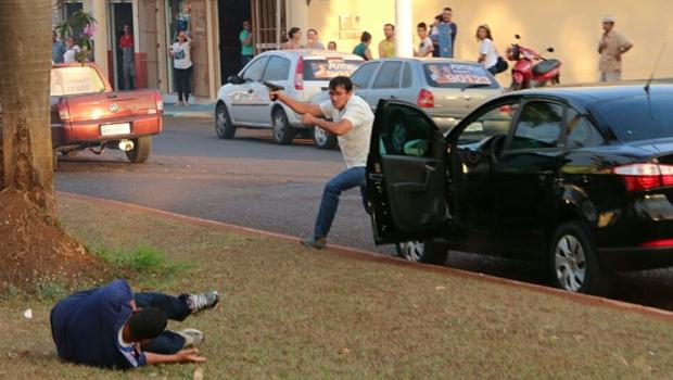 """""""Se não fosse a ação rápida do policial, tragédia teria sido maior"""", diz vice de Zé Gomes"""
