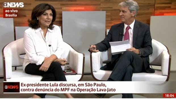 """Globo News """"ignora"""" morte de ator da própria emissora e prefere falar de Lula"""