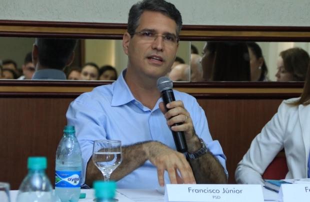 Francisco Jr. durante participação no evento | Foto: Rafael Batista