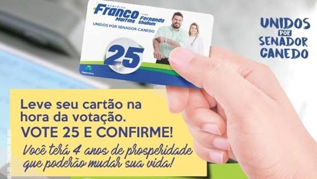Campanha de Franco Martins nas redes sociais | Foto: Reprodução